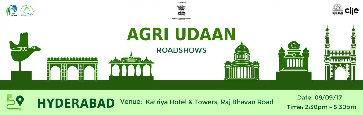 Agri Udaan Hyderabad Roadshow
