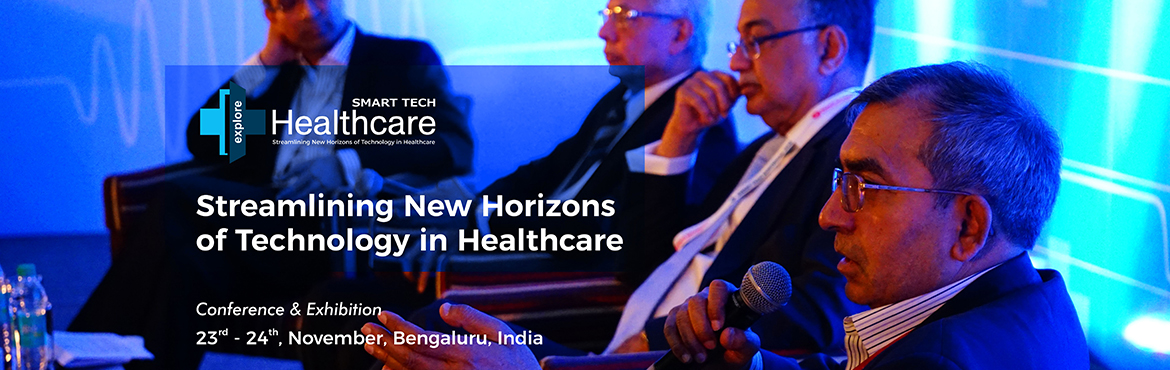 In its 2nd year the Smart Tech Healthcare is one among the most dedicated conferences aimed at streamlining new horizons of technology in healthcare w