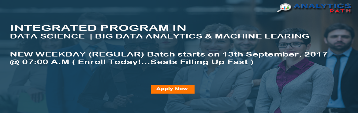 Analytics Path is pleased to announce that it offers comprehensive Data Scientist Training in Hyderabad for achieving effective operational management