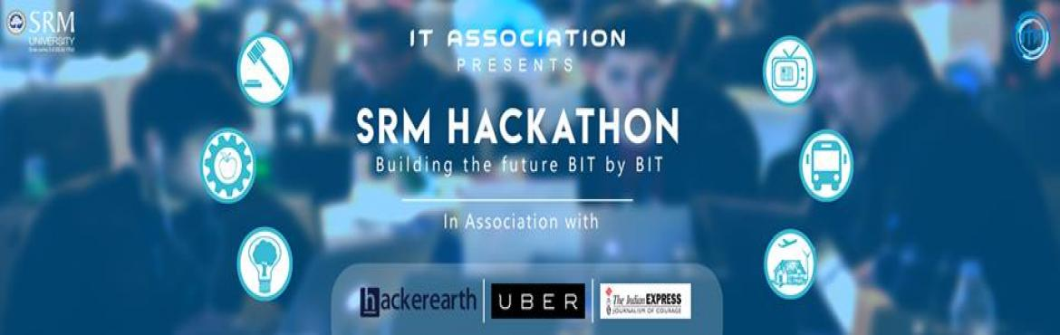 Book Online Tickets for SRM Hackathon, Chennai.  Unleash your brain\'s creativity and potential, use your coding skills to bring out the developer in you and come up with a viable solution to find out if you\'ve got what it takes to not just survive but thrive in the 21st century and in turn