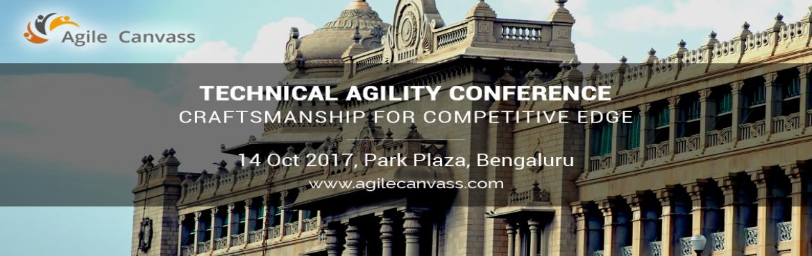 "Book Online Tickets for Technical Agility : Craftsmanship for co, Bengaluru.   About the ConferenceTechnical agility and craftsmanship have proven to be the key pillars on the agile journey for teams and organizations. ""Delivering working software frequently"" in a complex environment where customers might not"