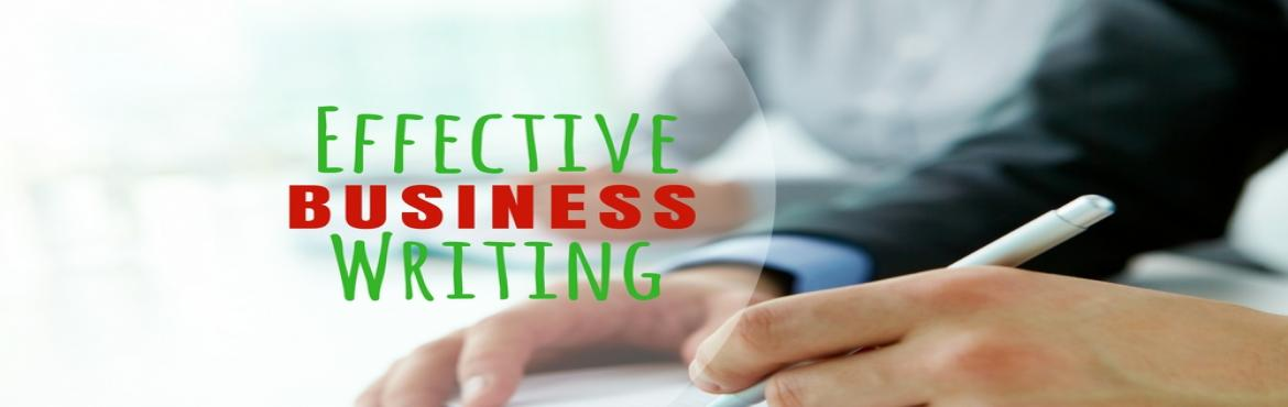 Book Online Tickets for Business Writing Skills, Mumbai. Take the strain out of composing any kind of document!            Would you like a quick and easy method for composing documents,letters, memos, reports, proposals and performance appraisals in an organized format? This seminar provides you with basi