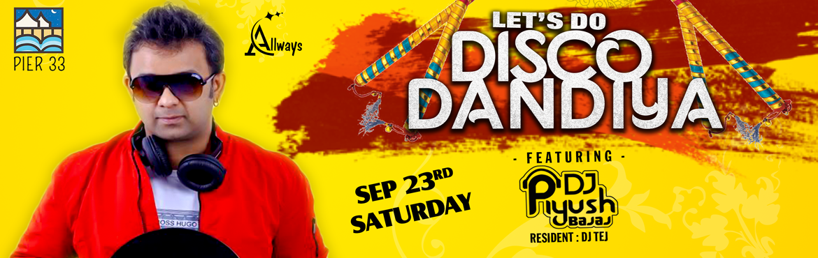 Book Online Tickets for Lets Do Dandiya - With DJ Piyush, Hyderabad.  Piyush started DJing as early as 16. His learning and creative application of music turned this eternal passion into an understanding and dispersion of electronic music. His gift of being able to bind the body of his music to the soul of his au