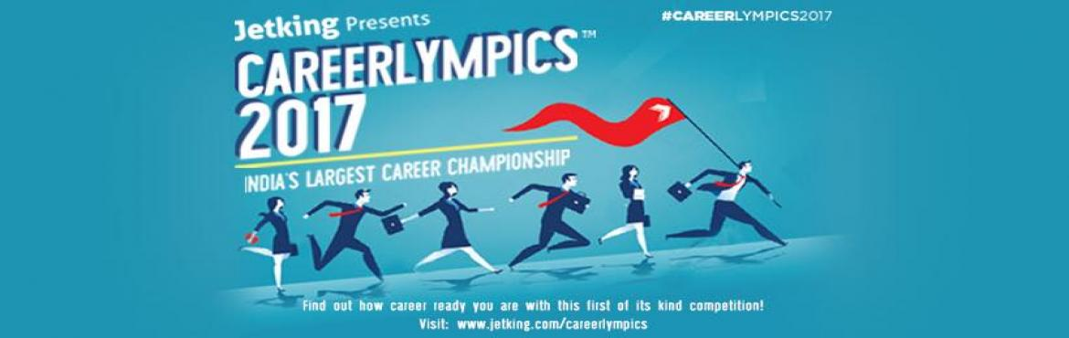 Book Online Tickets for Jetking Careerlympics 2017, Mumbai. Find out how career ready you are in this fun and exciting race. Participate in group games and individual personality contests to emerge a winner and win some very exciting prizes.   What is Careerlympics?- Careerlympics is Indias\'s first care