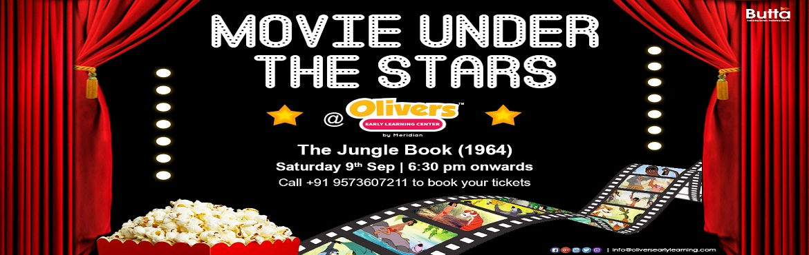 Book Online Tickets for Movie Under The Stars - Olivers Jubilee , Hyderabad.  Bring your little one, watch with a friend! Book your tickets to enjoy a wonderful \