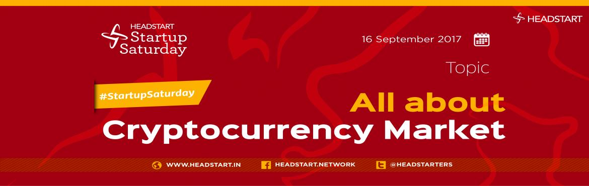 Book Online Tickets for All about Cryptocurrency Market, Ahmedabad. There is a growing consensus that cryptocurrencies will certainly play a crucial role in the way we deal with money. In April 2017, the total market cap for all cryptocurrencies, combined, was slightly higher than $25 Bn. The same market cap shot up