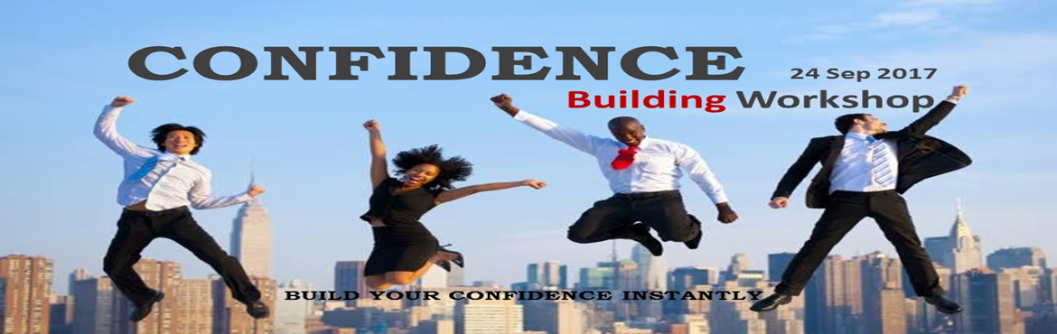 Book Online Tickets for Confidence Building Workshop, Hyderabad. Do you feel lack of self worth? Do you feel you lack the confidence takes you to succeed? Do you feel yourself not good enough to accomplish what you want? Do you feel it is somehow your fault that things are not going the way you want? If any of the