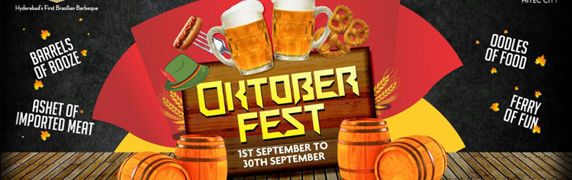 Book Online Tickets for Oktoberfest, Hyderabad. SALAD / SOUP (CHOOSE ONE) Wurstsalat (Sausage Salat} {Southern German Chicken Sausages & Cheese Salad} OR Apfel and Fenchel Salat {Apple and Fennel Salad with Aged Sweet Mustard –Mayo'} OR Kohlsuppe {German's Cold Winter's