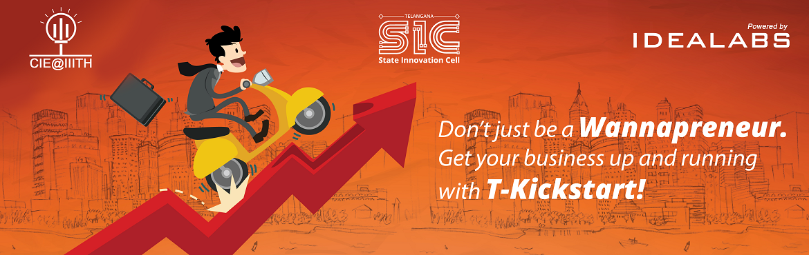 Book Online Tickets for T-Kickstart, Hyderabad.  ARE YOU A WANNAPRENEUR WITH AN IDEALOOKING FOR VALIDATION BEFORE YOU DIVE IN TO ENTREPRENEURSHIP  About T-Kickstart: T-Kickstart is a three-day entrepreneurship bootcamp spread over three weekends. T-Kickstart is