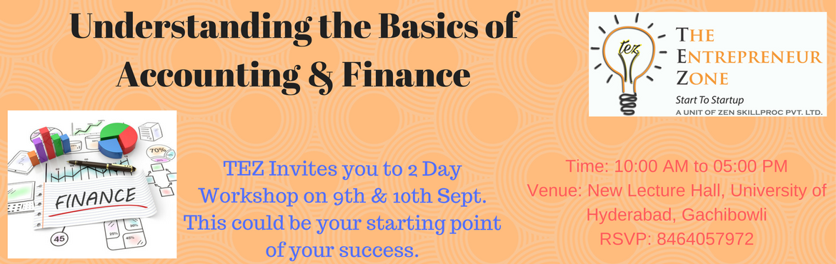 2 Day Workshop on Account and Finance