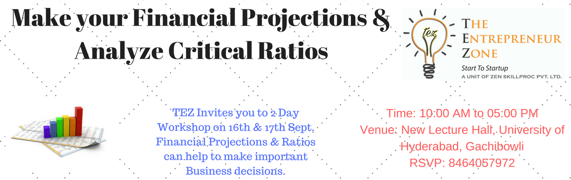 Financial Projections, Critical Ration and Funding Options