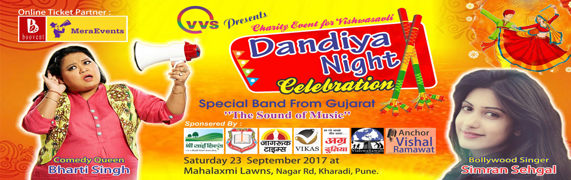 "Book Online Tickets for DANDIYA NIGHT CELEBRATION  @ MAHALAXMI L, Pune. It gives us immense pleasure to inform you that, we are going to organize one day Garbha event named ""Dandiya Night Celebration\"