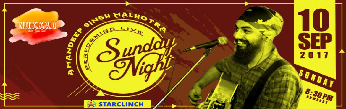 Amandeep Singh Malhotra Live at Nukkad Cafe - Powered by StarClinch