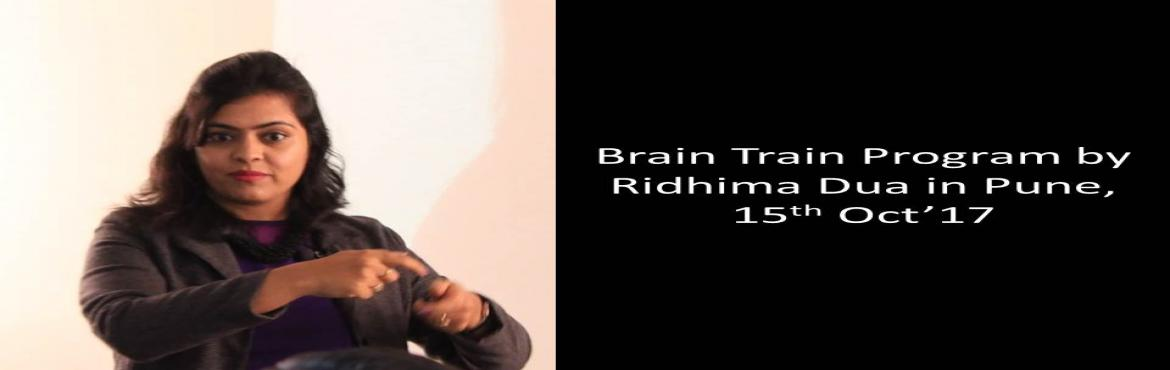 1-day Brain Train Program based on NLP by Ridhima Dua