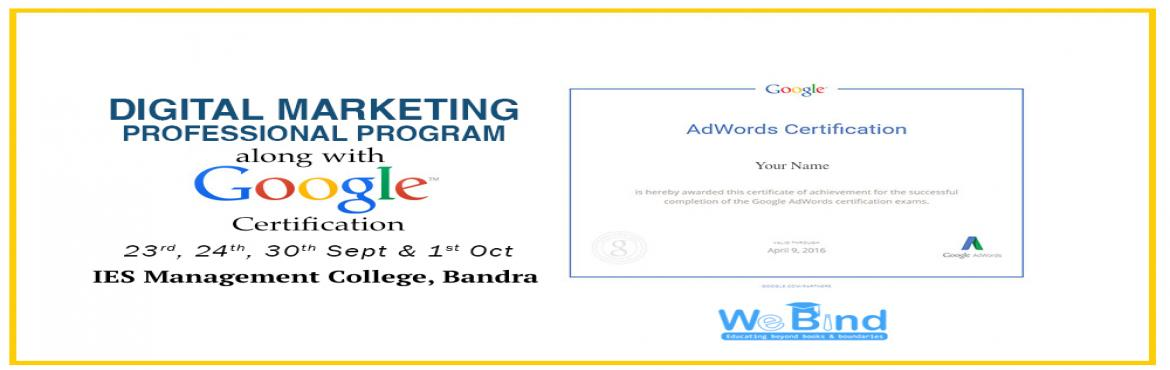 4 Day Digital Marketing Workshop with hands-on training