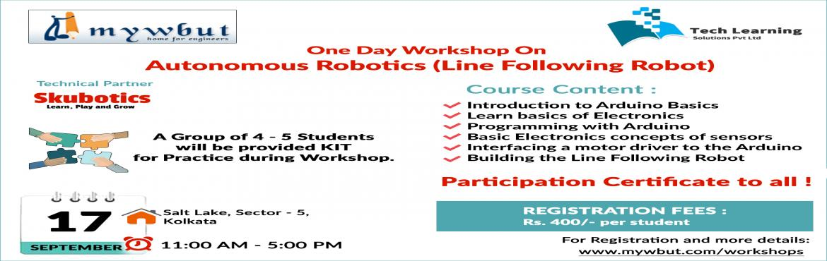 Linefollower Robotics Workshop by Skubotics