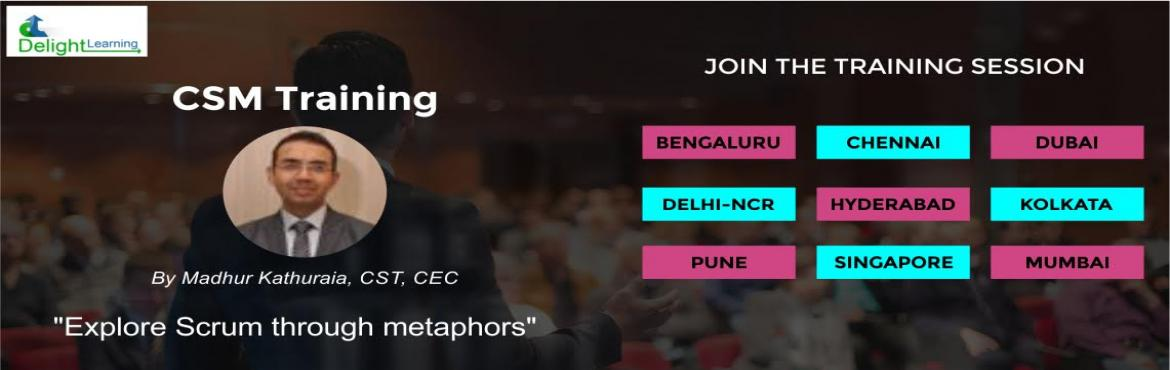Book Online Tickets for Certified Scrum Master (CSM) Workshop by, Hyderabad. Certified Scrum Master (CSM) Workshop Practical Scrum in a Fun Way Scrum might look simple, but doing it properly is hard. In fact, most organizations fall short and find only a small percentage of the benefits that can be attained. That\