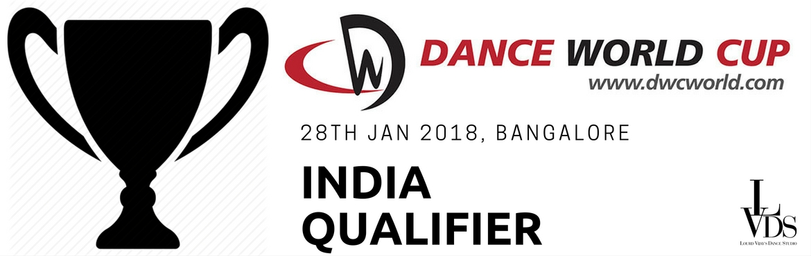 Book Online Tickets for  Dance World Cup qualifier- India, Bengaluru.   Dance world cup qualifier india- 2018:   India will be hosting the first ever Dance World Cup qualifier in Bangalore on the 28th of January 2018. 2018's Dance World Cup finals will be held in Spain.   About Dance world cup: &nb