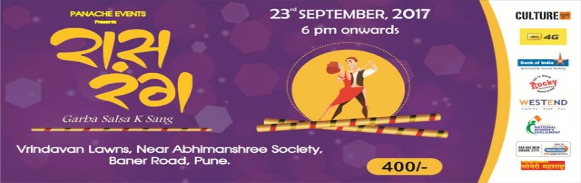 Book Online Tickets for Raas Rang - Garba Salsa k Sang, Pune. Its that time of year when you unleash the dancer within you and put on your dancing shoe. Get ready to witness Dandiya with a difference. Experience the fusion of Gujrati Garba and Latin Amercian Salsa. Groove your ears to Dholi Taro and let yo