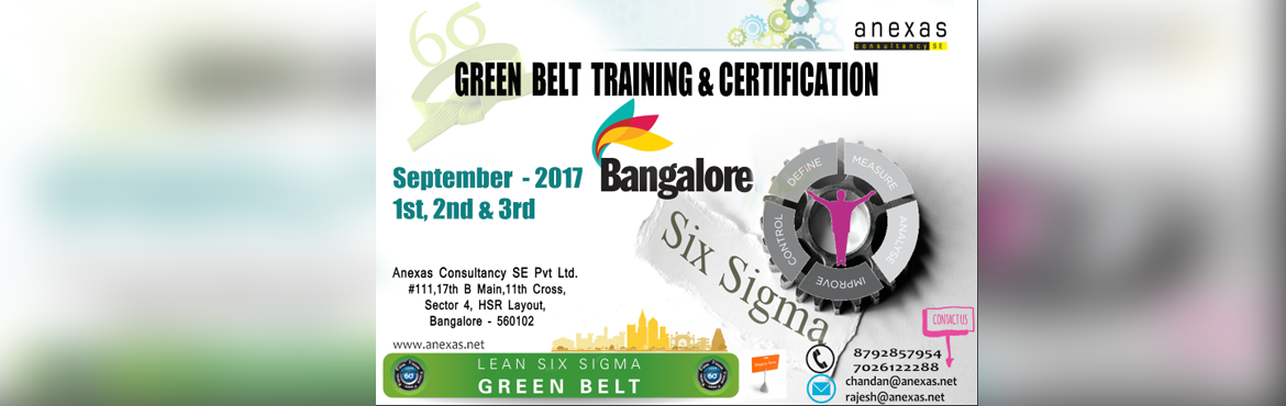 Lean Six Sigma Green belt Training and Certification