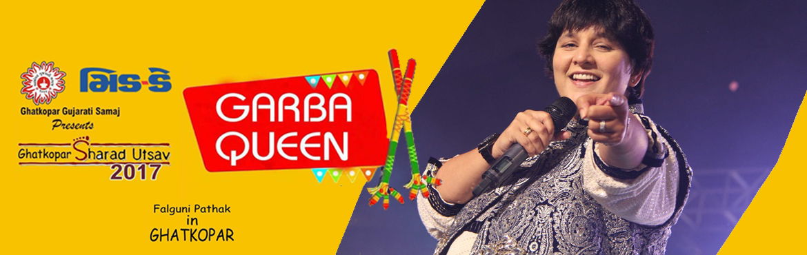 Book Online Tickets for SHARAD UTSAY NAVRATRI WITH FALGUNI PATHA, Mumbai. l SHARAD UTSAY NAVRATRI WITH FALGUNI PATHAK 2017 is an event to be held on 1st & 2nd october 2017. Expected participation in the event would be around 15000. This Event signifies support and unity in the society, People stay awake the