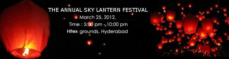 Book Online Tickets for THE ANNUAL SKY LANTERN FESTIVAL, Hyderabad. Lets ask ourselves: 