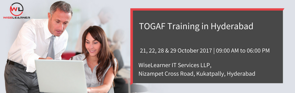 Book Online Tickets for best Togaf Training in Hyderabad with be, Hyderabad. OVERVIEW  TOGAF is a framework for enterprise architecture which provides a comprehensive approach for designing, planning, implementing, and governing an enterprise information architecture. TOGAF has been a registered trademark of the Open Group in