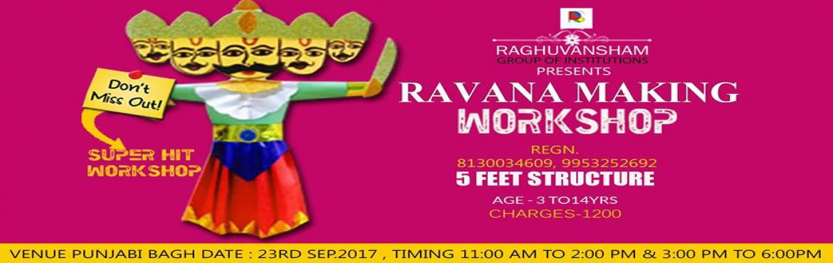 ravana making workshop