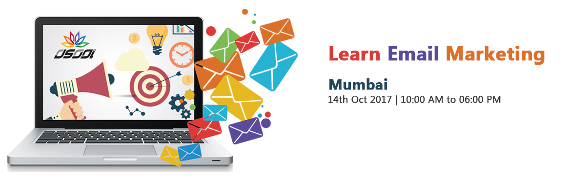 Book Online Tickets for Learn Email Marketing, Mumbai. Learn Website Making: Get Maximum responses from clientsRishi Gangoly, Ex AppleIndia\'s First Website Coachwww.LearnWebsiteMaking.comLearn To To get your messages delivered to the InboxTechniques to get your prospects to reply to youTo build goo