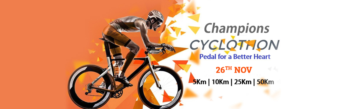 Book Online Tickets for Champions Cyclothon 2017, Chennai.  Life\'s victories don\'t always go to the strongest or the fastest man. Ultimately, the one who wins is the one who thinks: I Can! You like cycling... You enjoy greenery… You love Chennai… How do you combine all three in a fabulou