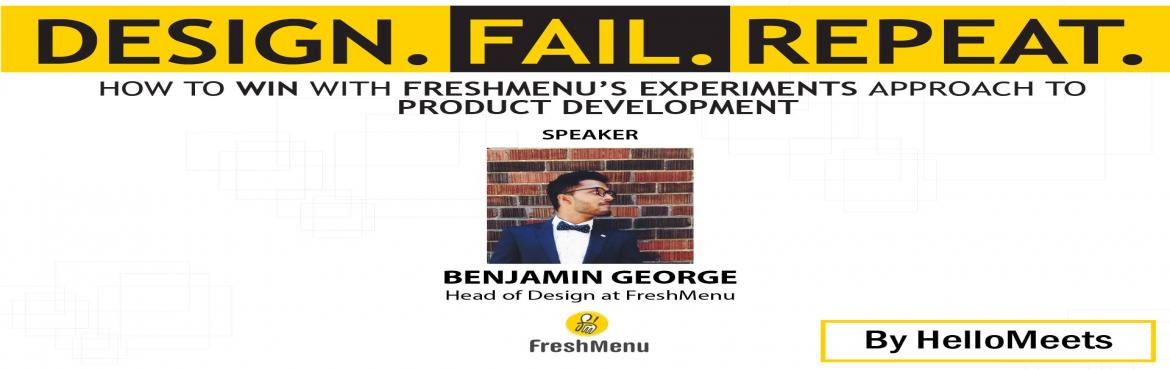Product Design Workshop with Head of Design at FreshMenu