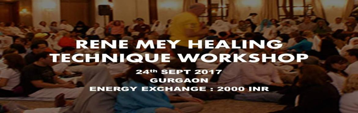 Book Online Tickets for Rene Mey healing technique workshoo, Gurugram. RENE MEY healing technique is easy to learn and implement and the results are amazing. Learn and help yourself, your family, friends and others heal.   Three methods taught are the follows:   Cell Regeneration Therapy    It is a t