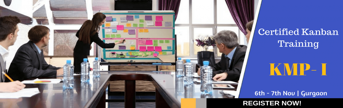Book Online Tickets for Certified Kanban Training - KMP I, Gurugram. This interactive Kanban training class provides an introduction to Lean, Pull Systems and Kanban and the application of Kanban to successfully improve your delivery. Using Lean and Agile techniques, it provides a practical introductionto this n