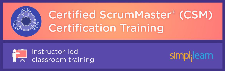 CSM Certification Training in Bangalore | Classroom Training Program