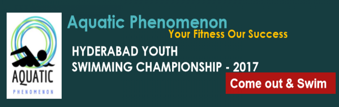 Book Online Tickets for Hyderabad Youth Swimming Championship - , Hyderabad.  The aim of the event is to encourage the youth of Hyderabad to develop an awareness about the importance of being healthy and fit through the medium of swimming.The people behind this swimming competition are passionate and professional swimmers and