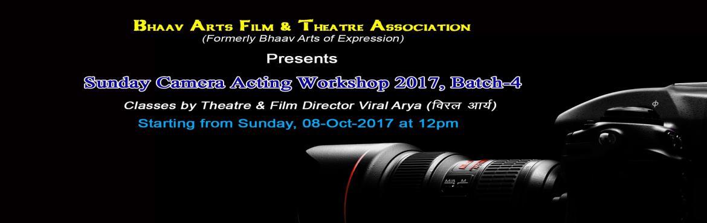 Sunday Camera Acting Workshop 2017, Batch-4