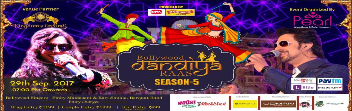 Book Online Tickets for BOLLYWOOD DANDIYA RAAS (Season 5), Gurugram. Guys Due to Huge Demand We Are Coming Back With a Bang...! Biggest \