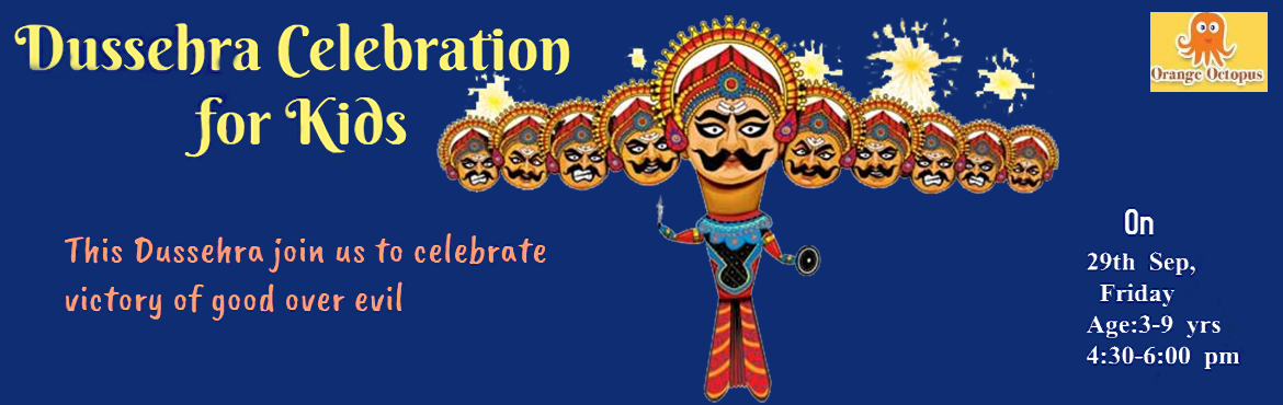 Book Online Tickets for Dussehra Workshop for kids - Delhi, New Delhi. Highlights:-     *Storytelling through handmade puppet by Sapna Verma Khandelawal bringing out the essence of Shri Ram\'s life & learnings from Ramayan.* Besides the fun element the kids will learn virtues such as tolerance, patience, h