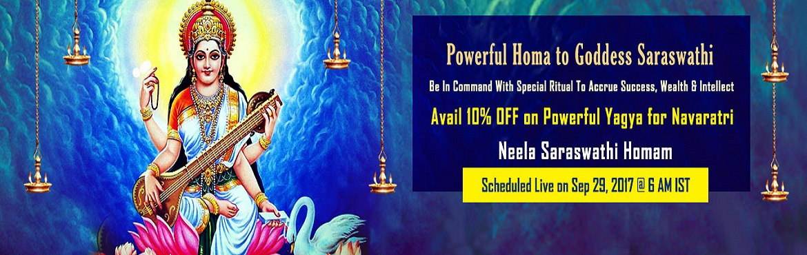 Book Online Tickets for Navratri 2017 Special Ritual, Chennai. Navratri, 2017 Highly Auspicious Temple Poojas and Powerful Homas For Navratri 2017 Scheduled On Sep. 27, 2017 - Sep. 29, 2017 Navaratri is one of the most religious festivals since Vedic times. This year the festival is celebrated from 21st Septembe