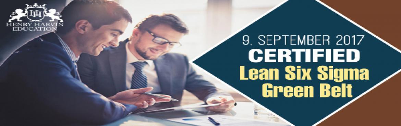 Executive Certificate Course on Lean Six Sigma
