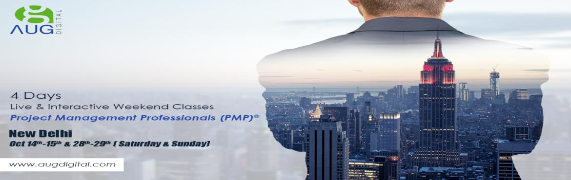 Book Online Tickets for  PMP Certification Classes In Delhi/NCR , Delhi. This 4 Days PMP® Classroom Training Session is designed to cover end to end course syllabi spanning over 47 processes aligned with 5 process groups and 10 knowledge areas of PMBOK...[] Training Type : Instructor-led live in class Dates:- Oct 14th