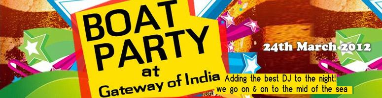 Boat Party @ Gateway Of India