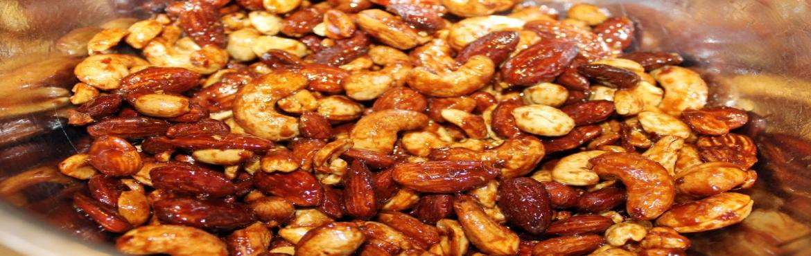 Roasted Nuts Making