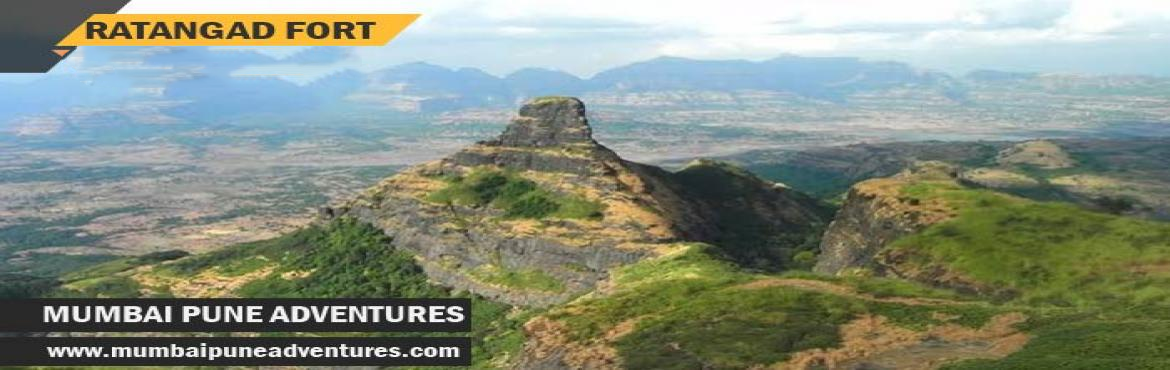 Book Online Tickets for Ratangad Trek-Mumbai Pune Adventures-22n, Mumbai.   Event Details:Event Grade: EasyEndurance Level: MediumHeight of fort: 4665 ft approx.Location: AhmednagarTotal time required for climbing: 3 hrs of normal climbDuration: 1 Night 1 DayCost: Rs.1100/-About Ratangad:Ratangad is a fort in Ratan Wadi, M