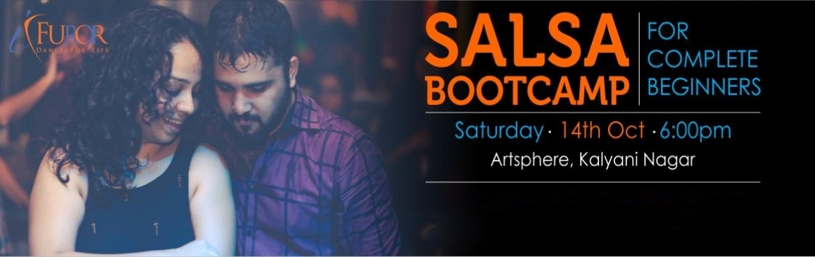 Book Online Tickets for SALSA Bootcamp for COMPLETE BEGINNERS_Ka, Pune. Registrations Open for our Salsa Bootcamp - For Complete Beginners Date: 14th Oct 2017 (Saturday)Time: 6pmVenue: Artsphere Pune, 402, Fourth Floor, North Court Building, North Avenue Road Number 12, Near Jogger\'s Park, Above Cafe Colombia, Kaly