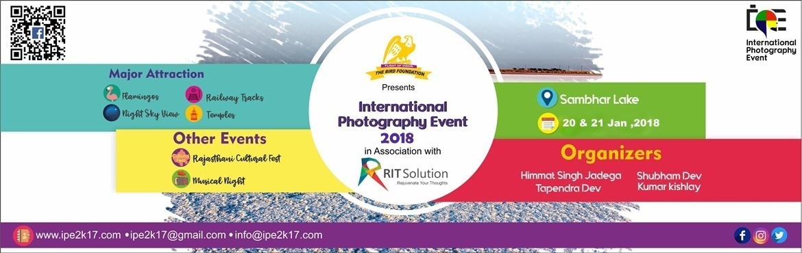 On 17-18 Nov 2017 explore the highlights of Sambhar Salt Lake with Rajasthani culture glimpse at Indias biggest photography event