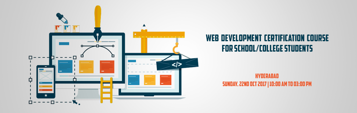 Web Development Certification Course for School/College Students