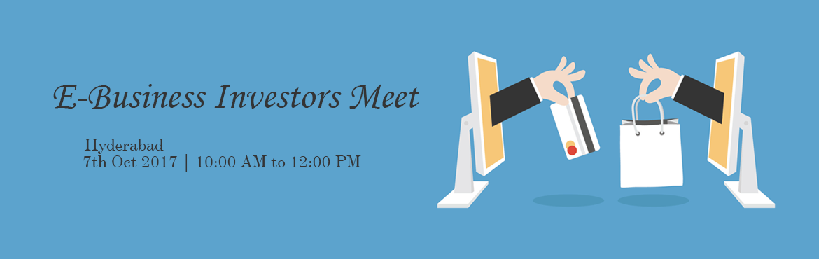Book Online Tickets for E-Business Investors Meet, Hyderabad. We are inviting people who are interested to invest in E-Business/E-Commerce on different concepts which has life time value for Business and Second Source of Income while pursuing current job/work. www.ShoppingMantraz.com(Affiliate Business Co
