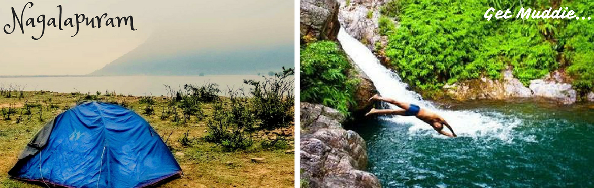 Book Online Tickets for Camping under the stars @ Nagalapuram, Hyderabad. Nagalapuram located at the foot hills of Eastern Ghats is one place you cannot miss out if you like water & adventure!!                The beautiful trek of Nagalapuram offers majestic mountains, fresh water streams formed by rains