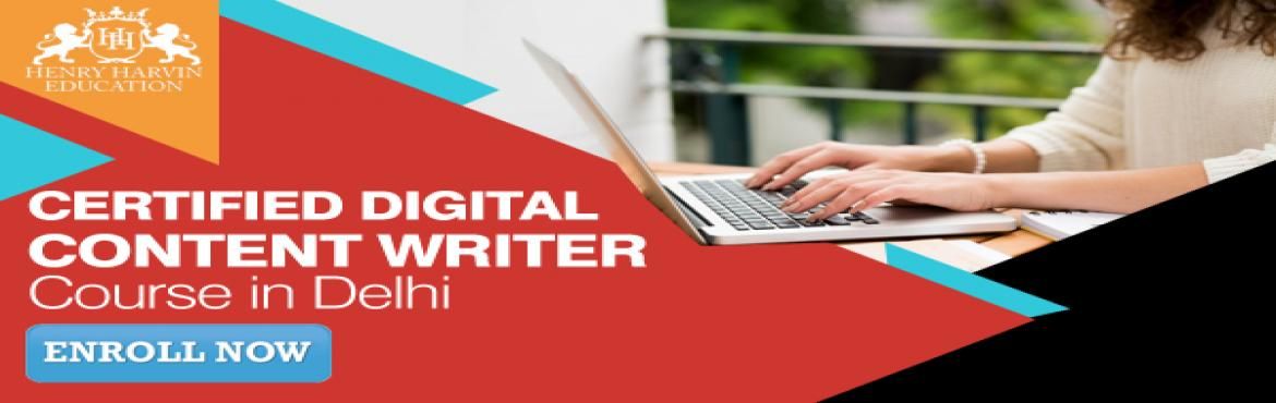 Book Online Tickets for Certified Digital Content Writer Course , New Delhi.   Henry Harvin Education introduces 4 day/32 hours Classroom Based Training and Certification course on content writing creating professional content writer, marketers, strategists. Gain Proficiency in creating 30+ content types and become a cer